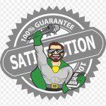Satisfaction happy client